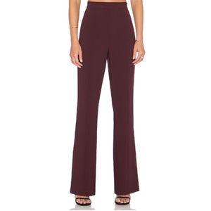 70s flare high waisted pants